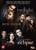 DVD cover van Twilight Saga 1-3 (Special Edition)