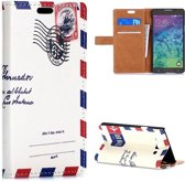 Samsung Galaxy A7 2015 - Flip hoes cover case - PU leder - PC - Air Mail