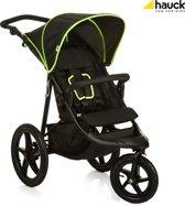 Hauck Runner - Kinderwagen - Zwart/Neon Geel