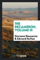 The Decameron, Volume III