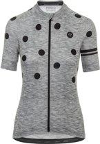 Agu Shirt Korte Mouw Essential Dot Dames Grey/Black L