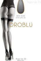 Oroblu Bas Riga 20 Stay up Kousen - 20 denier - Zwart - Maat M