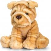 Knuffel Sharpei hond knuffel 35 cm