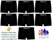 Boxershorts heren (7 stuks) microfiber Belucci Zwart M/L