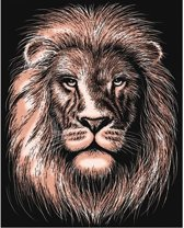 Krasfolie Leeuw