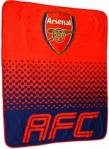 Arsenal Deken - Fleece - 125 x 150 cm