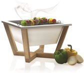 XD Design Nido Houtskoolbarbecue – Wit