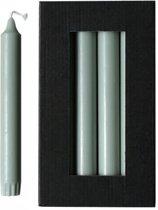 Dinerkaarsen - 10 stuks - Groen - 2,2 x 19 cm - Rustik Lys