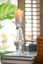 Riviera Maison Newport Beach Candle Holder - Windlicht - transparant - M