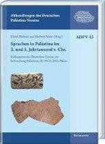 Sprachen in Palastina Im 2. Und 1. Jahrtausend V. Chr.