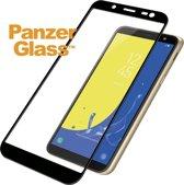 PanzerGlass Premium Screenprotector voor Samsung Galaxy J6 - Zwart