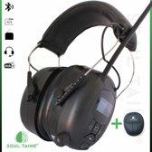 Soul Taine® - EAR 20 D | Gehoorbescherming met DAB+ radio en bluetooth | AUX ingang | oorkappen met DAB+ radio | gehoorbescherming met bluetooth | gehoorbeschermer met radio