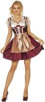 Boeren Tirol & Oktoberfest Kostuum | Biergarten Dirndl Steffi | Vrouw | Maat 38 | Bierfeest | Verkleedkleding