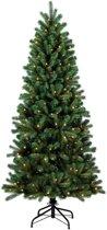 Royal Christmas Alaska Slim Premium Kunstkerstboom - PE/ PVC - LED - 210cm