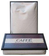 Andrew's laptray/schoottafel Cafe Biscotti en Dolce - 41 x 31 10 cm