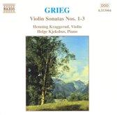 Grieg: Violin Sonatas no 1-3 / Kraggerud, Kjekshus