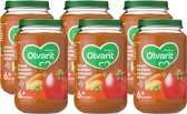 Olvarit 6m07 tomaat rundvlees aardappel wortel 6x200g