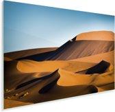 Schaduw en licht bij de Afrikaanse zandduinen van Sossusvlei in Namibië Plexiglas 60x40 cm - Foto print op Glas (Plexiglas wanddecoratie)