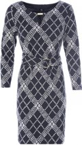 K Design Isabel O409 jurk met riem L