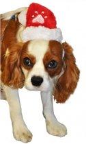 Kerstkleding - Kerstmuts voor hond of kat - Dieren Kerstmuts