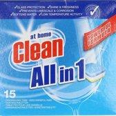 At Home Clean Vaatwastabletten 15pcs