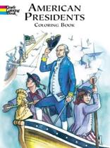 American Presidents Colouring Book