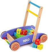 Tidlo baby loopwagen met abc blokken