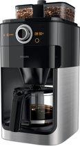 Philips Grind & Brew HD7766/00 - Koffiezetapparaat - Zwart/Zilver
