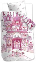 Beddinghouse Kids Fairy Palace Dekbedovertrek - Roze 140x200/220