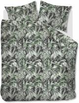 Beddinghouse Liana - Dekbedovertrek - Tweepersoons - 200x200/220 cm + 2 kussenslopen 60x70 cm - Green