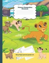 Primary Composition Notebook Story Paper Journal Grades K-2