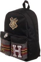 Harry Potter - Hogwarts Patches Backpack - Black