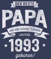 Der Beste Papa wurde 1993 geboren: Wochenkalender 2020 mit Jahres- und Monats�bersicht und Tracking von Gewohnheiten - Terminplaner - ca. Din A5