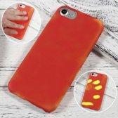 Thermo hoesje iPhone 6 Rood wordt geel bij warmte