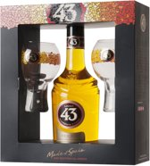 Licor 43 Original Cadeauverpakking - 1 x 70 cl met 2 Glazen