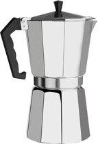 Moka Express Percolator - Authentieke Koffie Maker - Snel en Gemakkelijk De Lekkerste Koffie - 150 ml - 3 kops