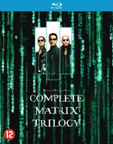 DVD cover van The Complete Matrix Trilogy (Blu-ray)