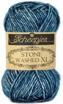 Scheepjes Stone Washed XL Blue Apatite (845) PAK MET 10 BOLLEN a 50 GRAM.