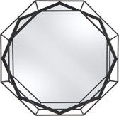 Present Time (Pt,) Linea - Spiegel - Staal - Ø50cm - Zwart