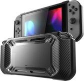 Zwarte Heavy Duty Nintendo Switch Case - Beschermhoes