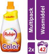 Robijn Klein & Krachtig Wasmiddel Color 2 x 42 wasbeurten