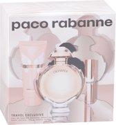 Paco Rabanne - Eau de parfum - Olympea 80ml eau de parfum + 10ml eau de parfum + 75ml bodylotion - Gifts ml