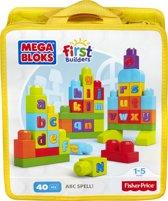 Mega Bloks First Builders A B C Spellen - Constructiespeelgoed