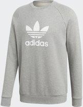 adidas Originals Trefoil Crew Heren - Medium Grey Heather - Maat M