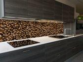 """Keuken achterwand """"Coffee Beans"""" 305 x 50 cm"""