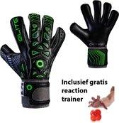 Elite - Combat PRO - Keepershandschoenen - inclusief Reaction trainer - maat 6 - voetbal keepershandschoenen - keepershandschoen - Goalkeeper handschoen