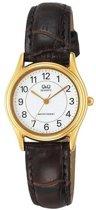Q & Q Vg67J104Y -  Horloge - Bruin