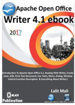 Apache open office writer 4.1 eBook.