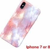 apple telefoonhoesje iPhone shell case Vintage Marble voor iPhone all type Soft TPU siliconen beschermhoes