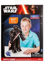 SET VAN 3 Star Wars Paper Craft Positioneerbare Figuren: Stormtrooper, Chewbecca en Darth Vader - 30.5 cm lang